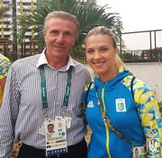 Ольга Харлан будет знаменосцем Украины на закрытии Олимпийских игр