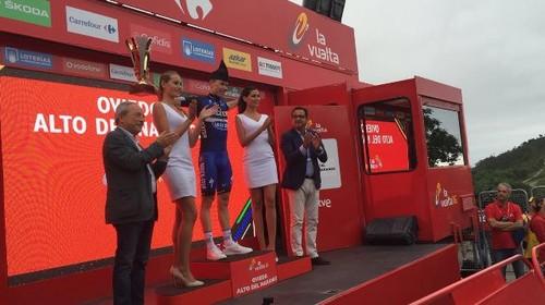 Давид де ла Крус - победитель 9-го этапа Вуэльты Испании-2016