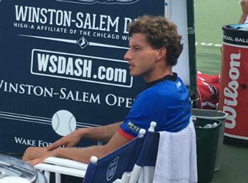 Пабло Каррено-Буста выиграл турнир в Уинстон-Сейлеме