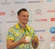 Олег Верняев - лучший спортсмен Украины в августе