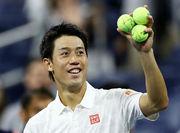 US Open. Кеи Нишикори стал четвертьфиналистом турнира