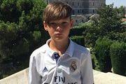 Юный украинец Давид Фесюк попал в академию Реала