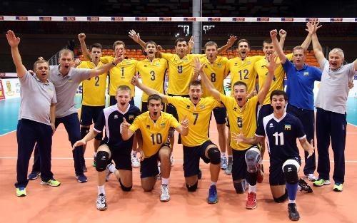 Сборная Украины по волейболу (U-20) вышла в финал чемпионата Европы