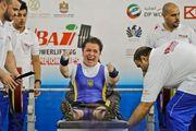 Паралимпиада. Лидия Соловьева приносит Украине восьмую золотую медаль