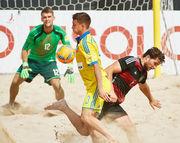 Пляжный футбол: Украина обыгрывает Германию и сыграет против Испании