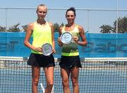 Украинка выигрывает парный титул на Кипре