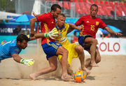 Пляжный футбол: Украина завершает европейский отбор ЧМ2017 на 10 месте