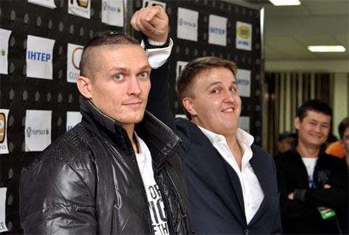 Следующий поединок Александра Усика может пройти в Киеве