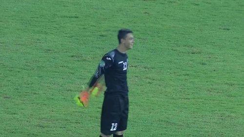 Узбекский вратарь забил гол ударом от своих ворот
