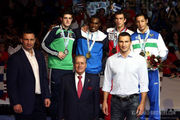 Братья Кличко посетили чемпионат мира в Катаре
