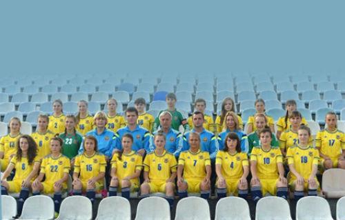 Женская сборная Украины WU-17 стартует в отборе на Евро-2016