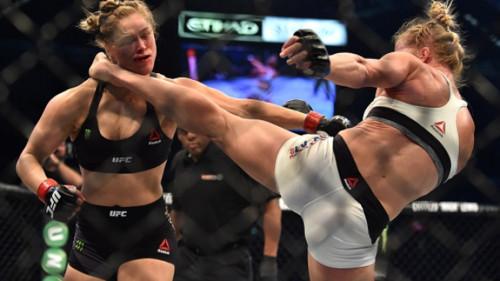 UFC. Холли Холм сенсационно нокаутировала Ронду Роузи