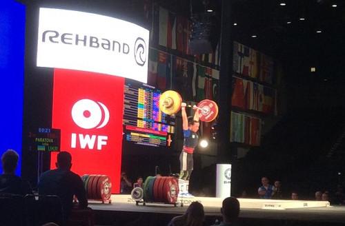 Юлия Паратова стала 8-й на ЧМ по тяжелой атлетике
