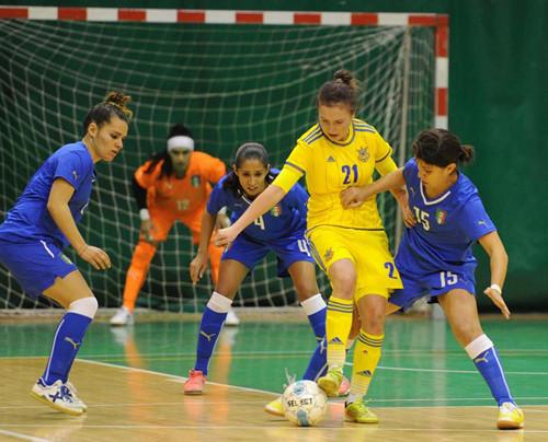Украинки и итальянки в первом матче сильнейшего не выявили