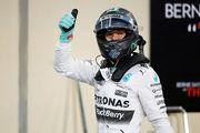 Гран При Абу-Даби: третий подряд триумф Росберга!