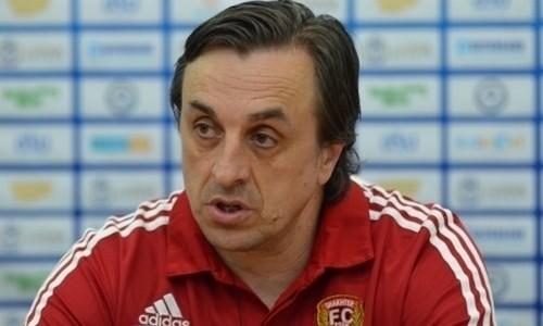 Украинский тренер покинул Шахтер из Караганды