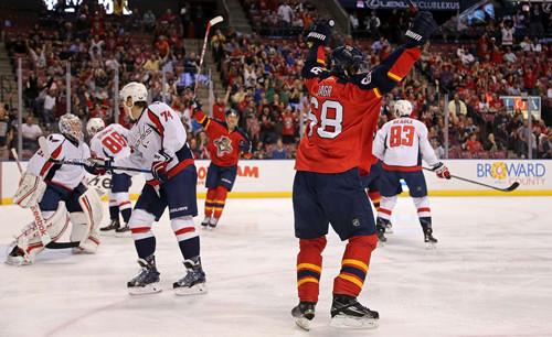 НХЛ. Флорида разгромила Вашингтон. Матчи четверга