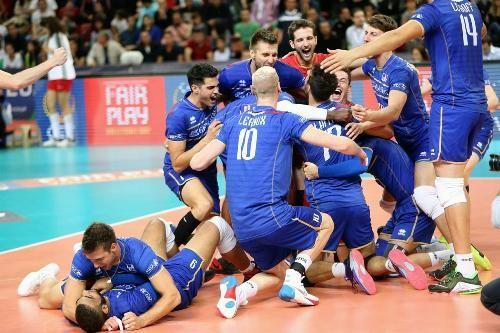 Волейболисты сборной Франции - чемпионы Европы!
