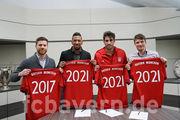 Бавария продлила контракты с четырьмя футболистами
