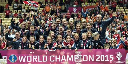 Сборная Норвегии стала чемпионом мира по гандболу