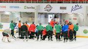 Донбасс и Дженералз опробовали лед на Альтаире