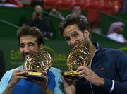 Братья Лопес выиграли парный турнир в Дохе
