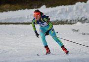 Яна Бондарь завоевала серебро в спринте на этапе Кубка IBU