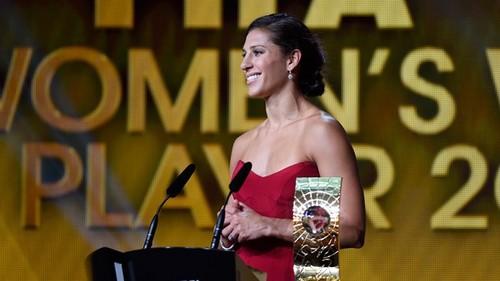 Американка Карли Ллойд – лучшая футболистка 2015 года