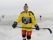 Ломаченко провел хоккейную тренировку