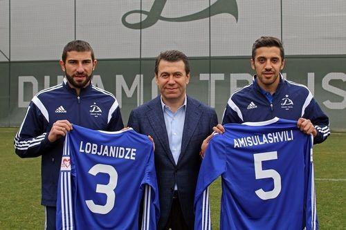 Лобджанидзе и Амисулашвили перешли в тбилисское Динамо