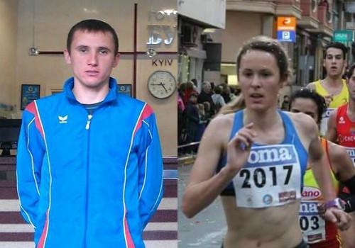 Коваль и Погорельская - лучшие легкоатлеты декабря