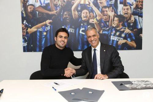 Интер объявил о трансфере нападающего Сампдории