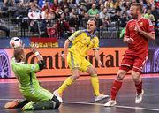 Видеофутзал: обзор матча Венгрия – Украина