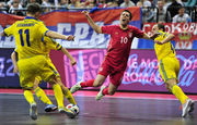 Видеофутзал: обзор матча Сербия – Украина