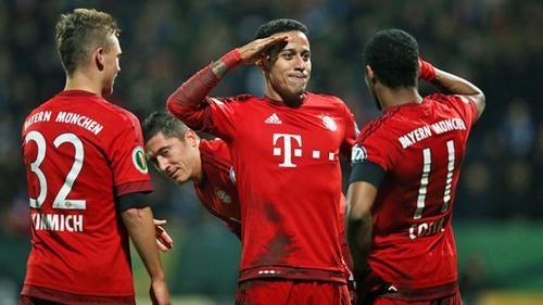 Бавария разбила Бохум и вышла в полуфинал Кубка Германии