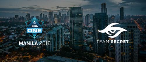 Team Secret приглашены на ESL One Manila