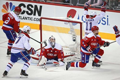 НХЛ. Вашингтон уступил Монреалю. Матчи среды