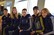Сборная Украины отправилась в Албанию