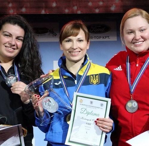 Украинцы вернулись с ЧЕ по стрельбе с комплектом наград