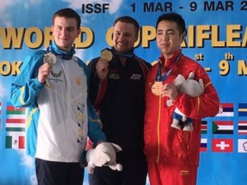 Кулиш завоевал «серебро» на этапе Кубка мира по стрельбе