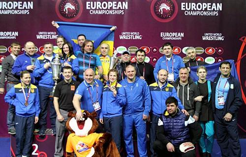 14 медалей украинских борцов в Латвии