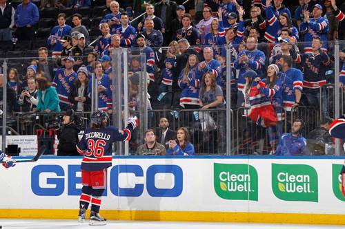 НХЛ. Нью-Йорк начинает и выигрывает. Матчи среды