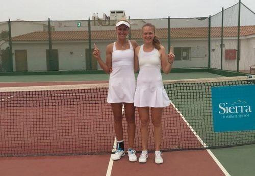 Капшай и Шошина выигрывают парный титул в Шарм-эль-Шейхе