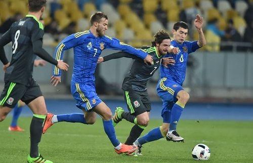 Украина и в игре против Уэльса добивается минимальной победы