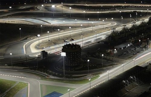 Формула 1: гонки посреди пустыни