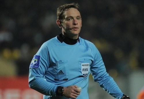 Евгений Арановский будет резервным арбитром на Евро-2016