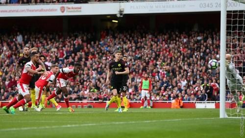 Арсенал — Манчестер Сити — 2:2. Видеообзор матча