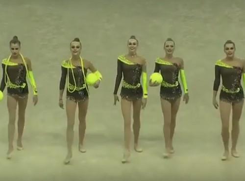 Украинские гимнастки - третьи на Кубке мира в Италии