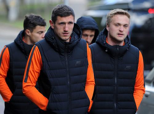 Футболисты Шахтера прогулялись по Киеву перед донецким дерби
