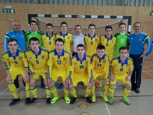 Турнір розвитку УЄФА: юнацька збірна України обіграла Словенію